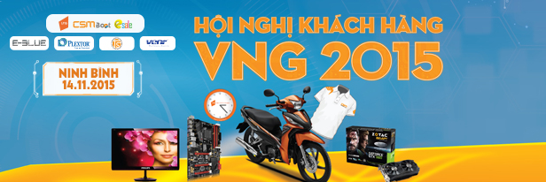 [14/11/2015] VNG tổ chức Hội nghị Khách hàng tại Ninh Bình