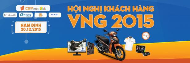 [20/12/2015] Hội nghị Khách hàng VNG tại Nam Định