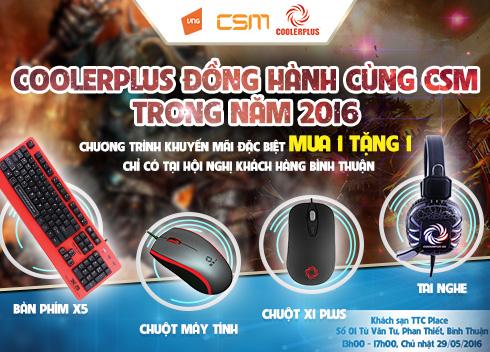 Coolerplus đồng hành cùng Ngày Hội Công Nghệ CSM tại Bình Thuận