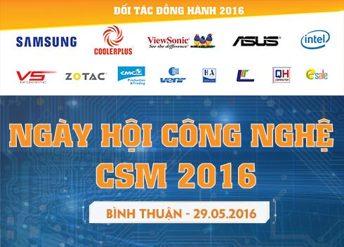 29/05 Tổ chức Ngày Hội Công Nghệ CSM tại Bình Thuận