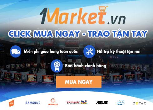Mua hàng chất lượng - Ấn tượng dịch vụ với 1market.vn