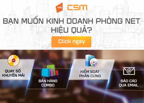 CSM VIP - Gói dịch vụ góp phần gia tăng doanh thu phòng máy