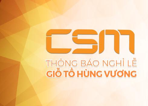Lịch hỗ trợ phòng máy CSM & Gcafe VNG dịp lễ Giỗ tổ Hùng Vương