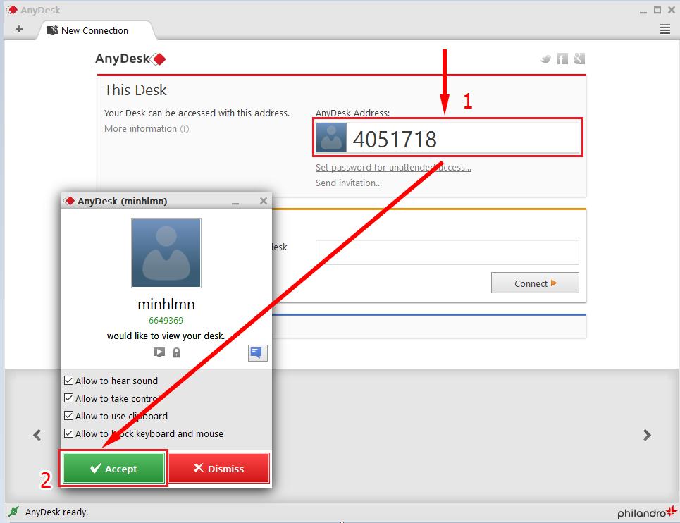 [Hướng dẫn] Sử dụng AnyDesk thay thế cho Teamviewer