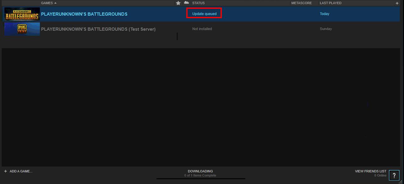 [Hướng dẫn] Khắc phục tạm thời lỗi game PlayerUnknowns Battlegrounds vào báo cập nhật