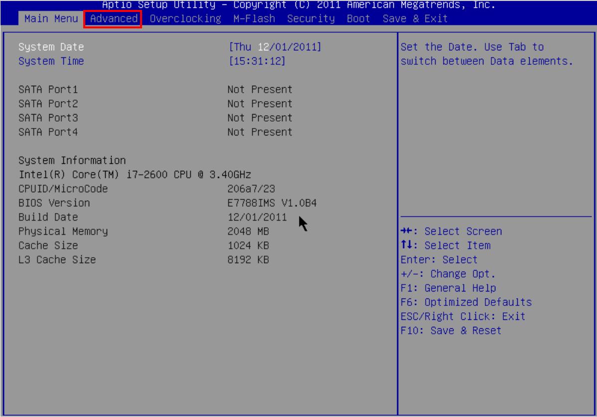 [Hướng dẫn ] Cấu hình boot on lan mainboard MSI H61