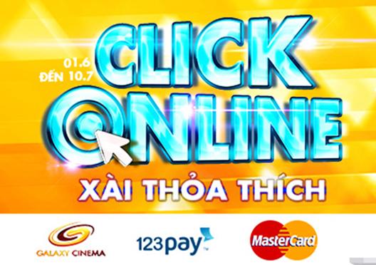 Click Online xài thỏa thích!