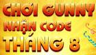Chơi Gunny nhận code tháng 8