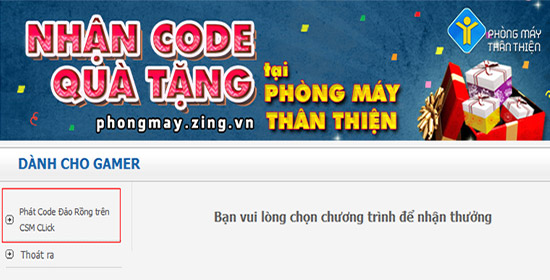 nhan code dao rong