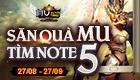 27/08 Săn Quà MU tìm NOTE 5 tại CSM Click. Săn ngay!!