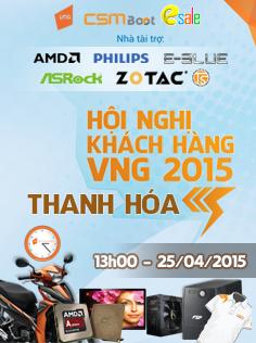 Hội nghị khách hàng VNG 2015 tại khu vực Tỉnh Thanh Hóa