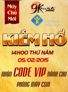 Phát code VIP Dành Cho Phòng Máy CSM
