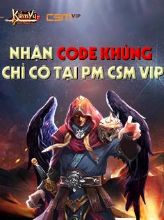 Phát code Kiếm Vũ tháng 10