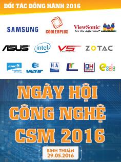 Ngày Hội Công Nghệ CSM 2016 - Bình Thuận