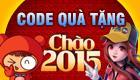 [Boom Online] 23/01 Phát code Chào 2015 trên CSM Click