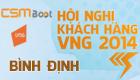 [08h30 - 28/12]Hội Nghị Khách Hàng VNG 2014 tại tỉnh Bình Định