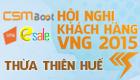 [08h00 - 16/05] Hội Nghị Khách Hàng VNG 2015 tại Thừa Thiên Huế